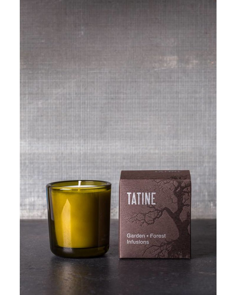 Tatine Garden + Forest Infusions Candle- Temple of Leaves