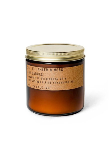 P.F. Candle Co. P.F. Candle Co. Candle- Amber & Moss 12.5oz