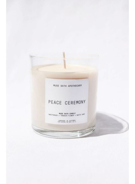 Muse Bath Peace Ceremony Candle