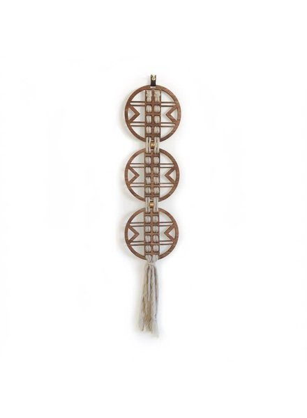 Ivory Triad Wall Hanging