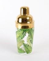 8 Oak Lane Palm Leaf Cocktail Shaker