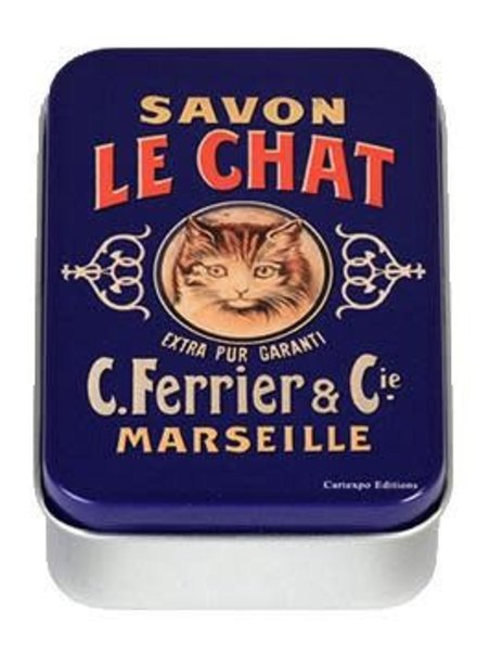 Mini Tin Box- Savon le Chat