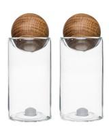 Sagaform Inc Oak Salt and Pepper Shakers (set of 2)