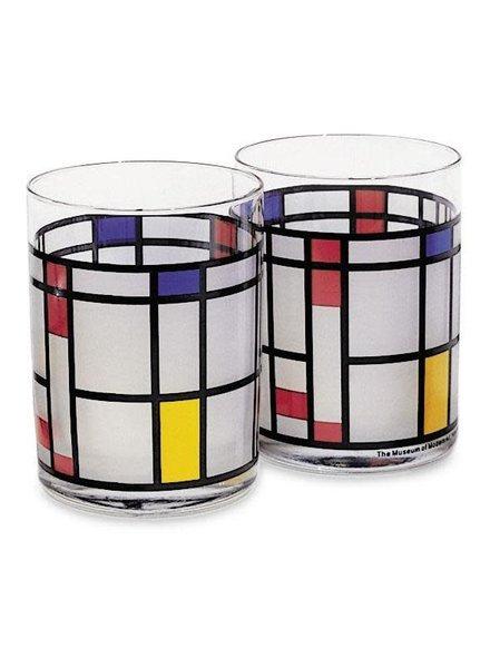 MCA Mondrian Tumbler (set of 2)
