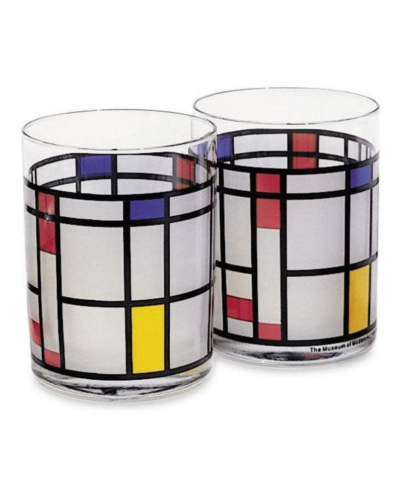 MCA Mondrian Tumbler (set of 2)