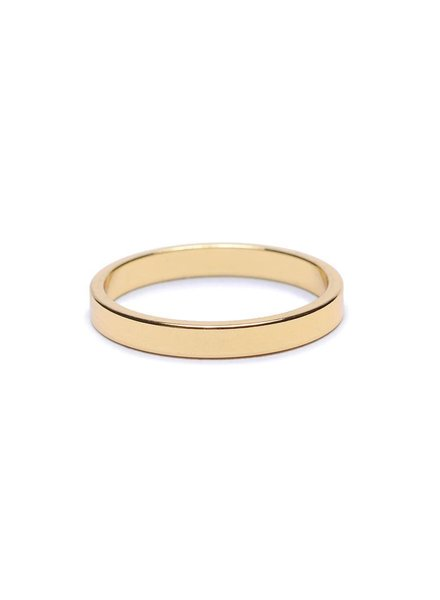 | 2.5mm Flat Band | Sz. 8