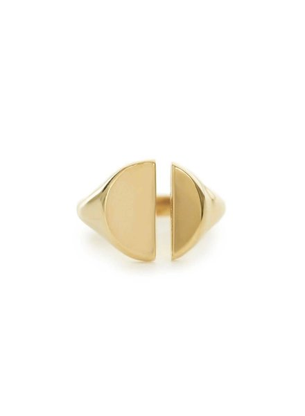 | Divided Signet Ring | Sz. 6