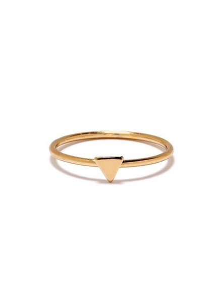 Bing Bang Bing Bang Tiny Triangle Ring, sz 7