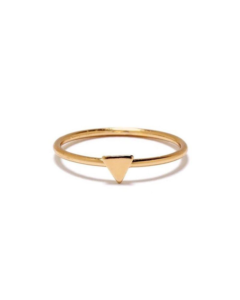 Bing Bang | Tiny Triangle Ring | Sz. 7