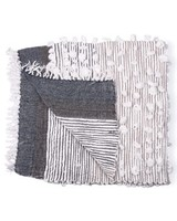 Casa Amarosa Charcoal Belinda Throw