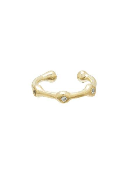 Scosha | 10k Trio Diamond Ear Cuff