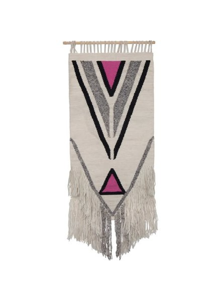 Fringe Natural Diamond Wall Hanging