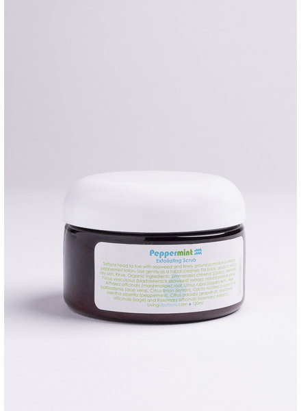 Living Libations | Peppermint Exfoliating Scrub |  120ml