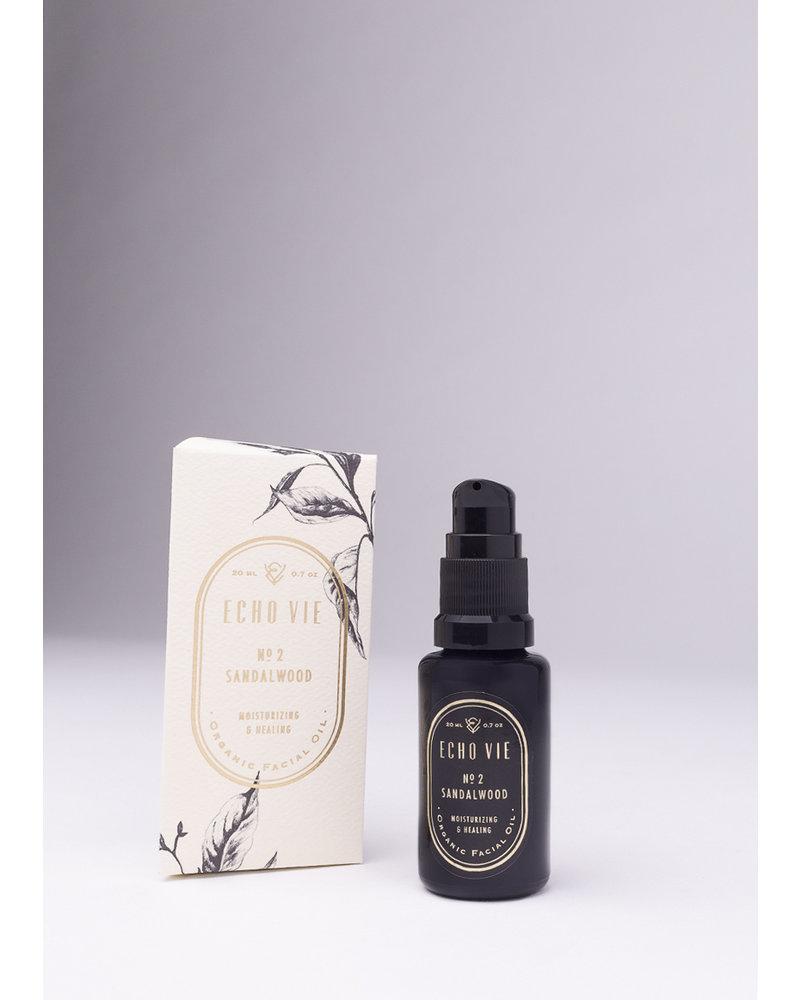 Echo Vie No. 2 Sandalwood | Moisturizing & Healing Facial Oil |  20ml