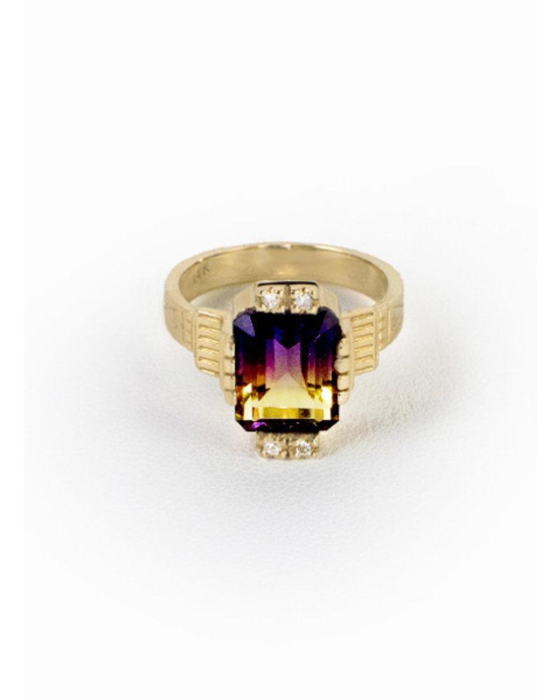 Eden Ametrine Ring | Sz.6