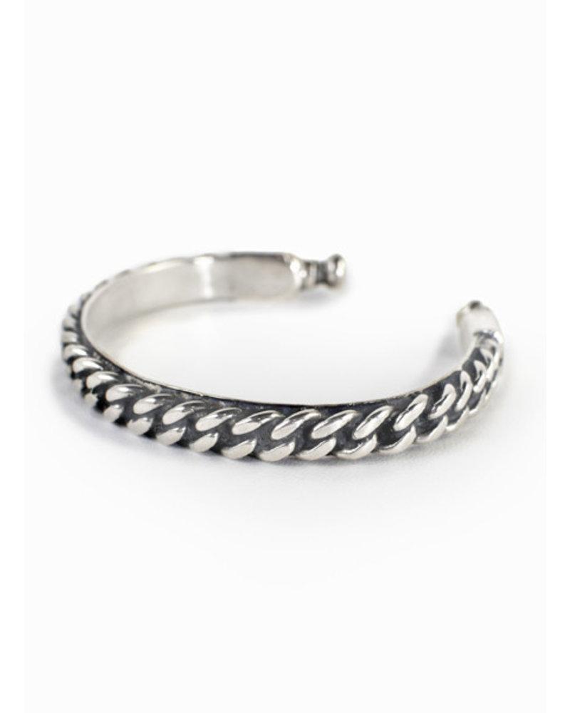 Break-a-Stone Break-a-Stone- S. Silver Chain Cuff