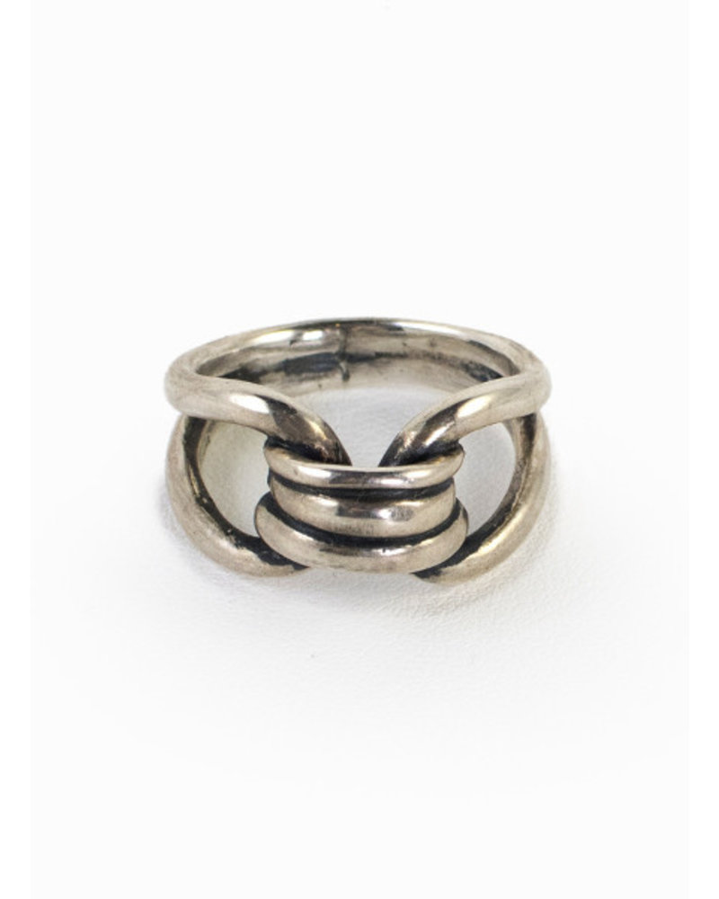 Sterling Silver Bond Ring