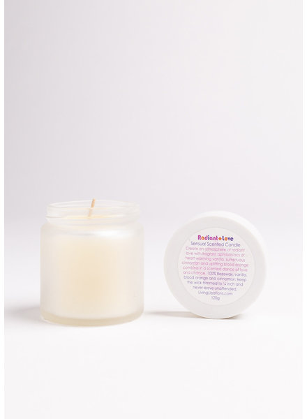 Living Libations | Radiant Love Soy Candle