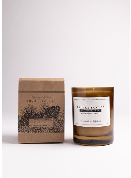 Truck & Barter   California Pine Soy Candle