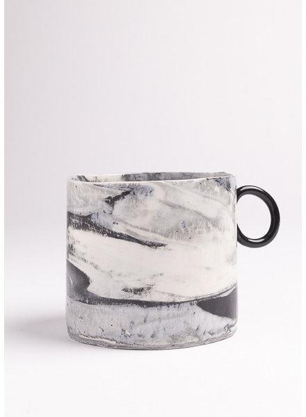 From:fran Big Dreamy Mug | White & Black