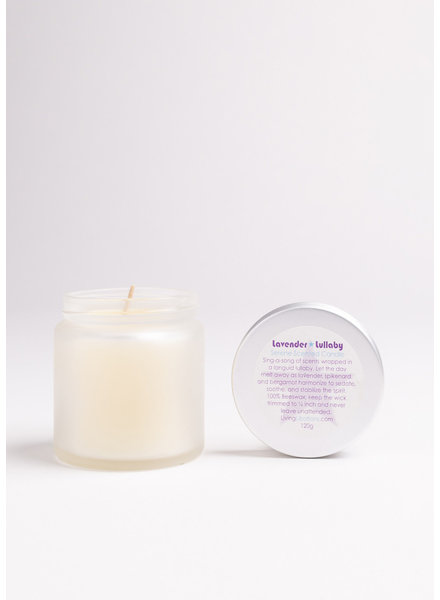 Living Libations |  Lavender Lullaby Soy Candle