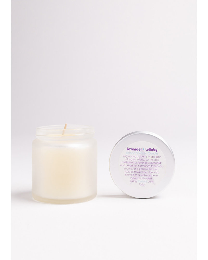 Living Libations Lavender Lullaby Soy Candle