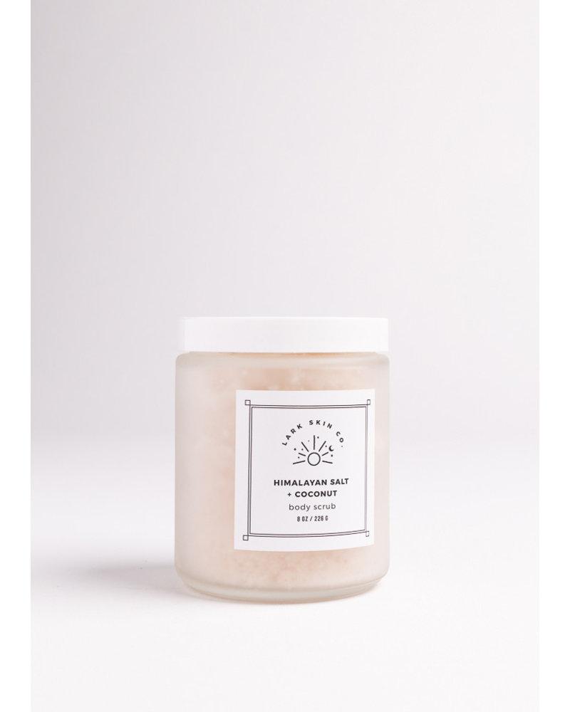 Lark Skin Co. Himalayan Salt & Coconut Body Scrub