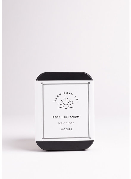 Lark Skin Co. | Lotion Bar | Rose & Geranium