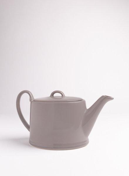 Clos du Manoir Linen Teapot- Grey