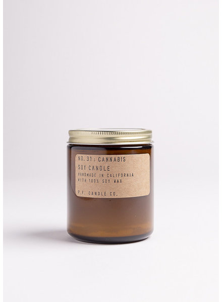 | Handmade Soy Candle | No. 31 Cannabis