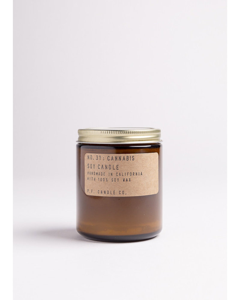P.F. Candle Co. Handmade Soy Candle | No. 31 Cannabis