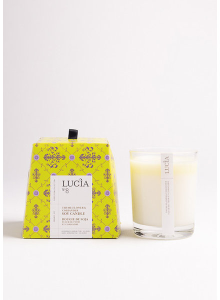 Lucia Lucia Candle- Thyme Flower & Coriander