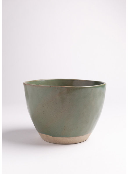 | Green Handmade Ceramic Bowl