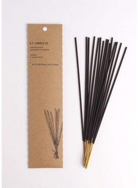 | No. 19 Patchouli Sweetgrass Incense