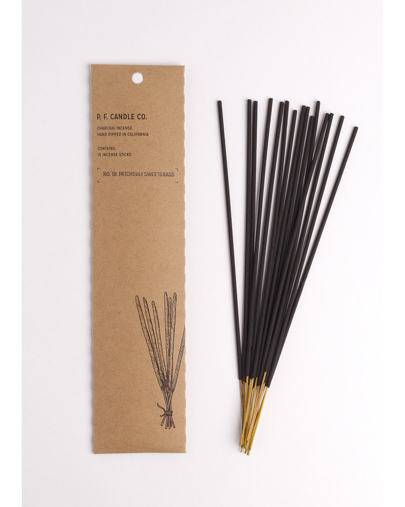 P.F. Candle Co. No. 19 Patchouli Sweetgrass Incense