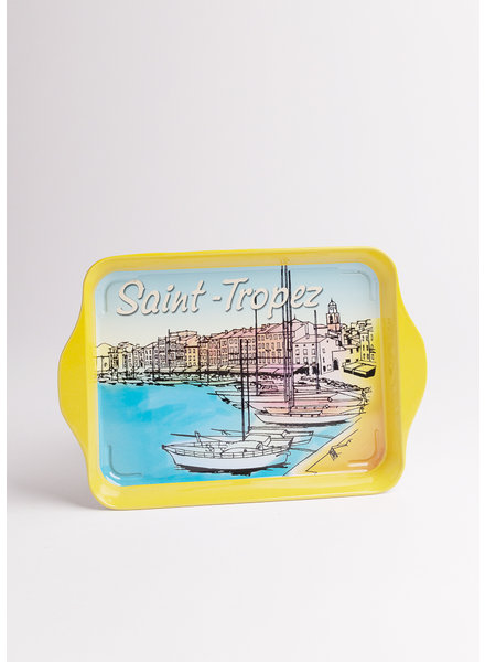 Saint Tropez Port Metal Tray