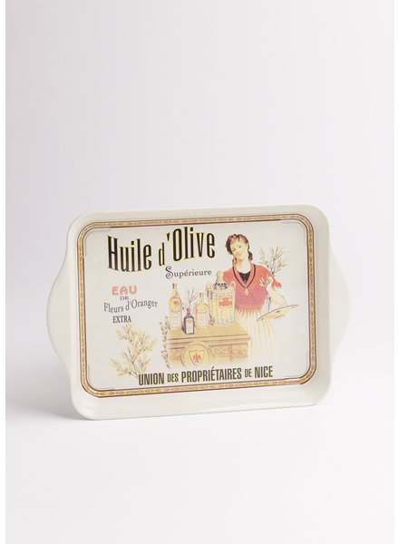Huile d'Olive Metal Tray