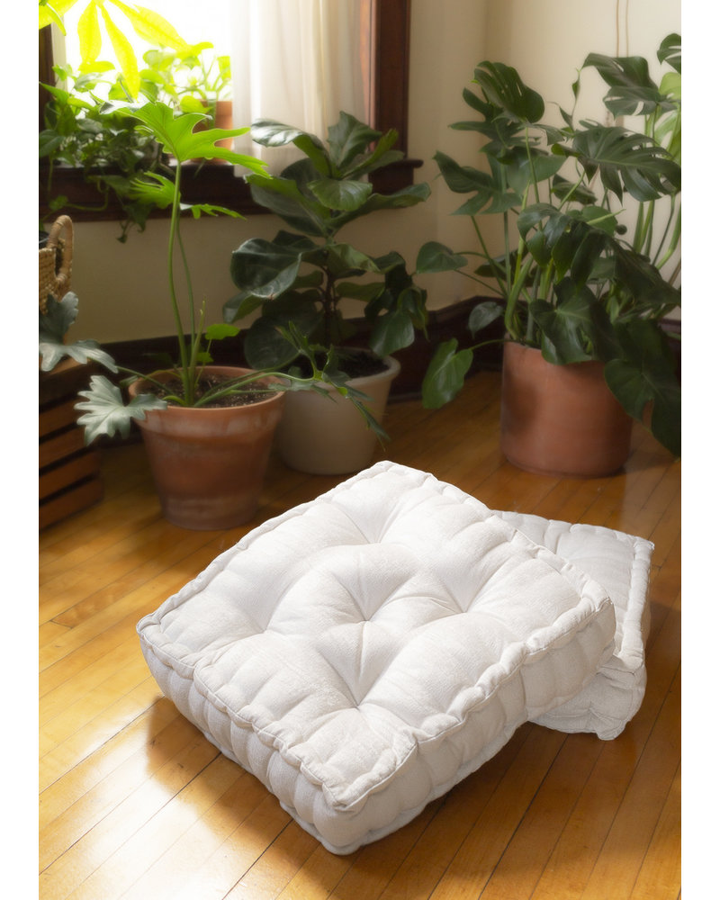 Chenille Square Floor Pillow