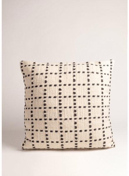 """Akara Akara Handwoven Wool Pillow, 22"""" x 22"""""""