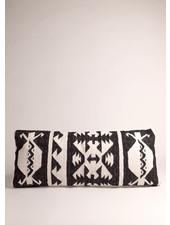 Black and White Lumbar Pillow