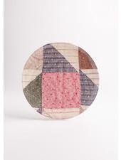 Dakota Pink Quilted Dinner Plate