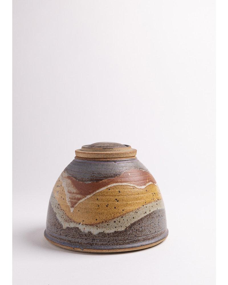 Vintage Borneo Pot + Lid