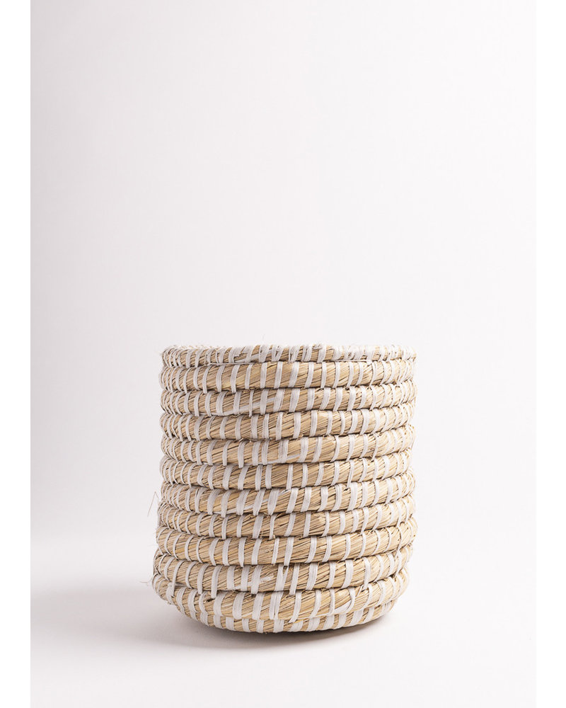 Vintage Small Woven Basket