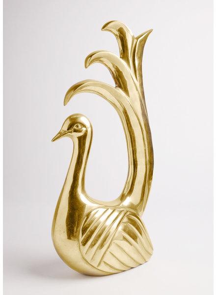 Gold Bird Statue