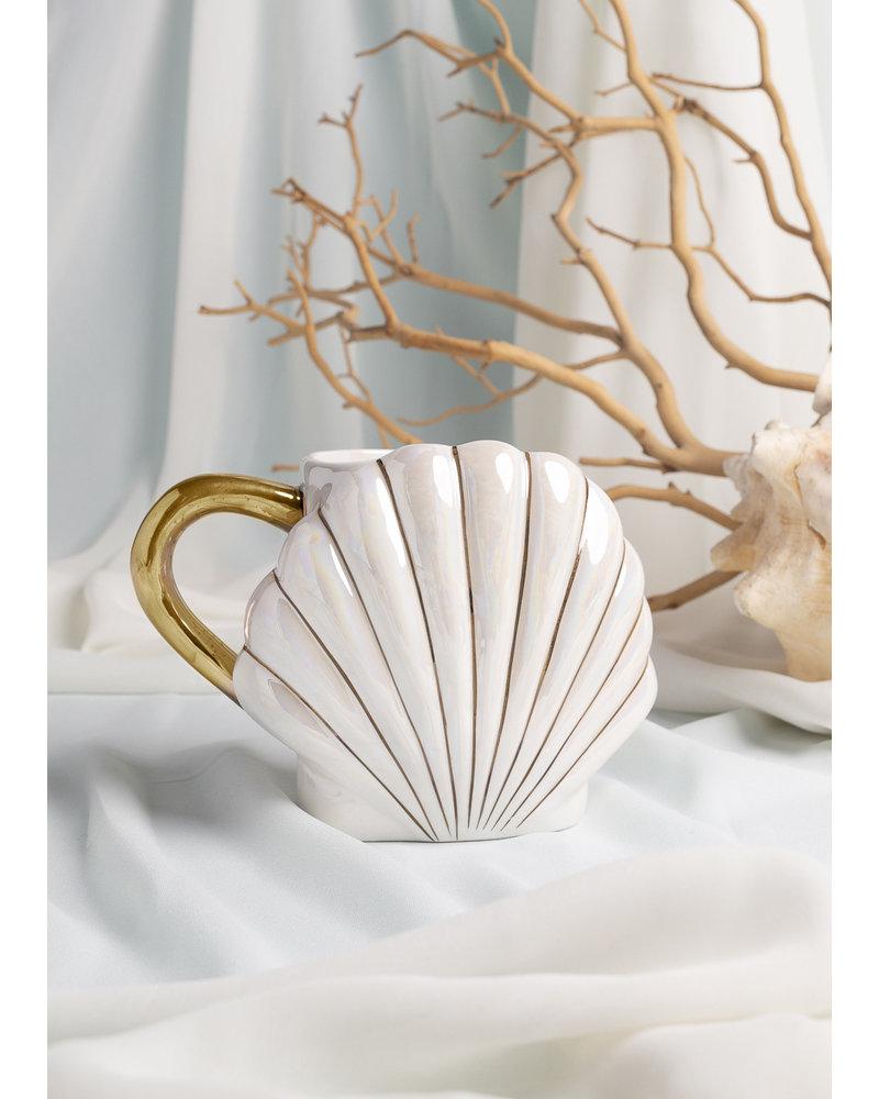 Mermaid Shell Coffee Mug