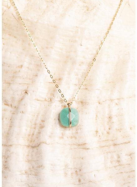 | Lariat Necklace Turquoise