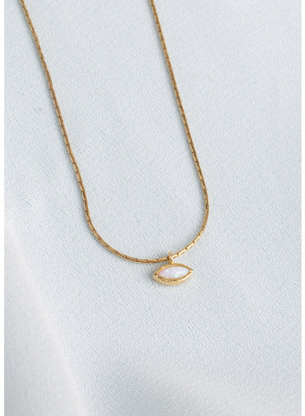 Isla Opal Pendant Necklace