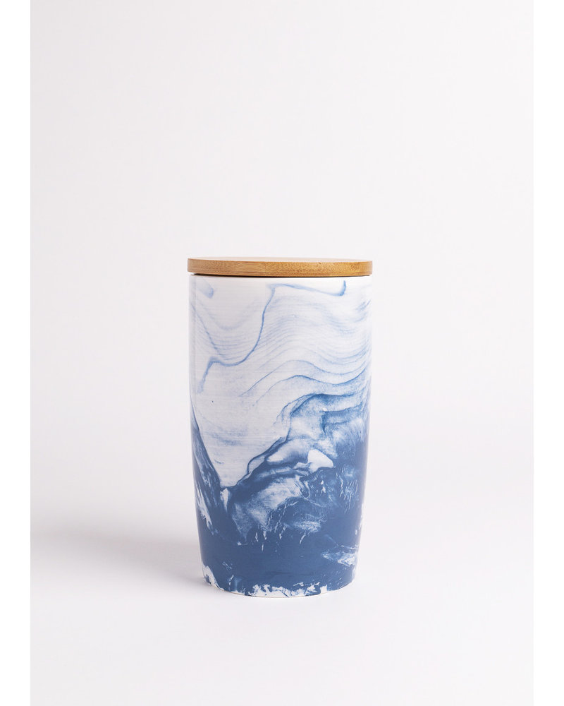 Oceana Marbled Canister