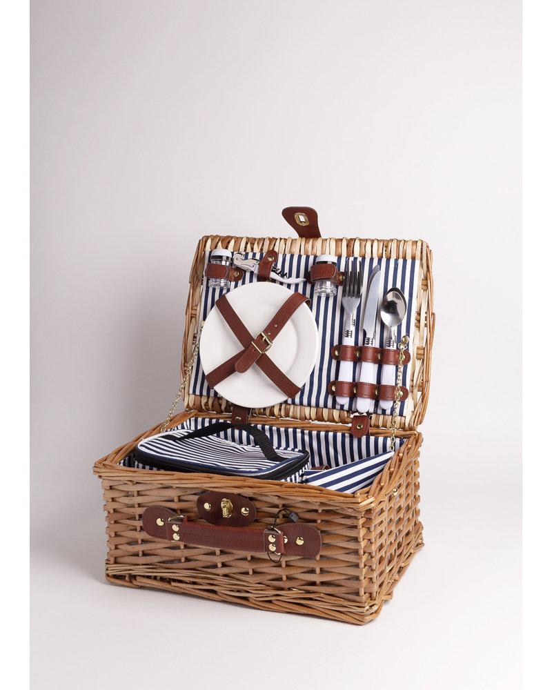 Montrose  Beach Wicker Picnic Basket