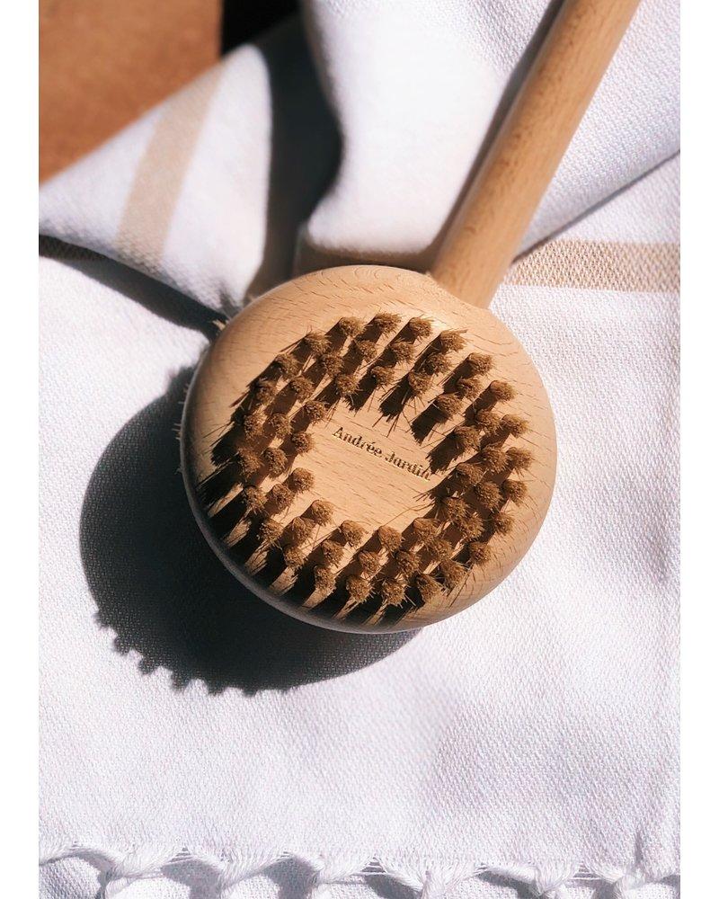 Beechwood Bath + Body Brush